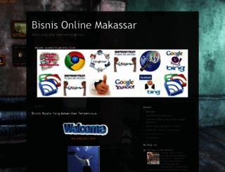 bisnisonlinemakasar.blogspot.com screenshot