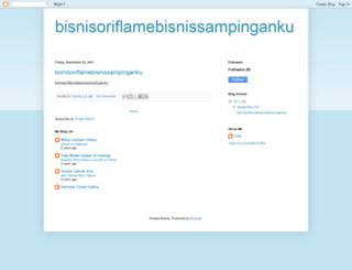 bisnisoriflamebisnissampinganku.blogspot.com screenshot