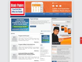 bisnispantes.blogspot.com screenshot