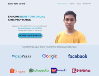 bisnistokoonline.com screenshot