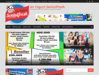bisnisyoghurt.com screenshot