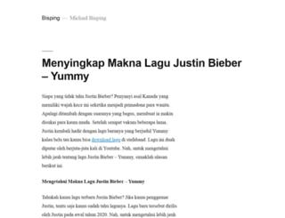 bisping.tv screenshot