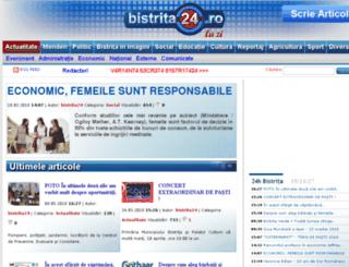 bistrita24.ro screenshot