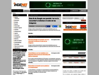 bitacora.ingenet.com.mx screenshot