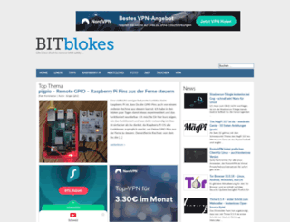 bitblokes.de screenshot