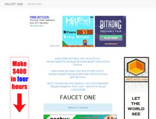 bitcoin-faucet-one.tk screenshot