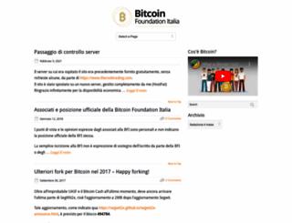 bitcoin-italia.org screenshot