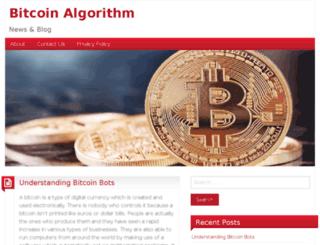 bitcoinalgorithm.com screenshot