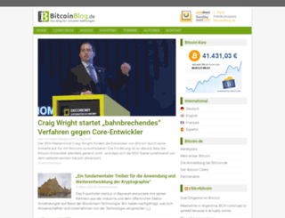 bitcoinblog.de screenshot