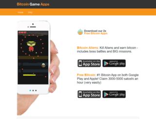 bitcoingameapps.com screenshot