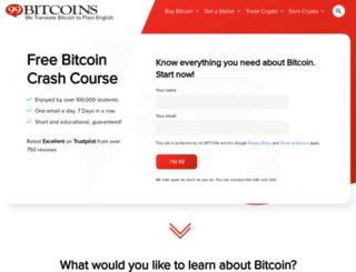 bitcoinvalues.net screenshot