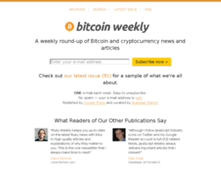 bitcoinweekly.com screenshot
