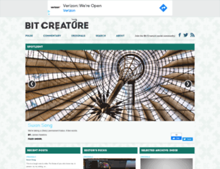 bitcreature.com screenshot