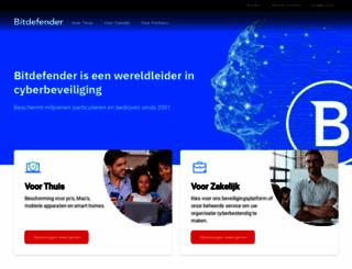 bitdefender.nl screenshot