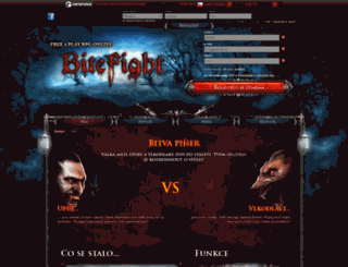 bitefight.cz screenshot