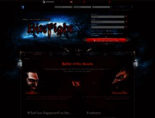 bitefight.dk screenshot