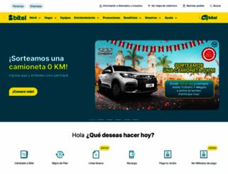 bitel.com.pe screenshot