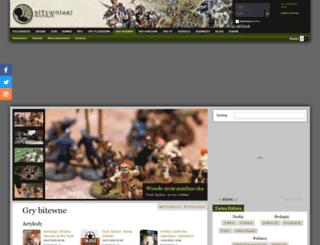 bitewniaki.polter.pl screenshot