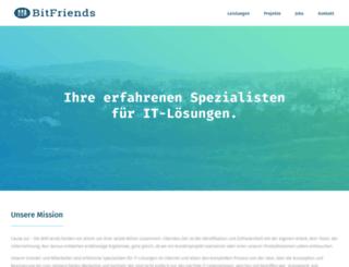bitfriends.de screenshot