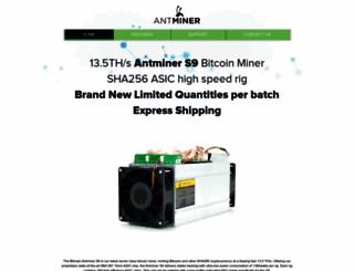 bitmainantminer.com screenshot