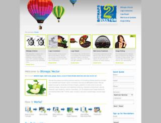 bitmaps2vector.com screenshot