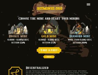 bitmines.org screenshot