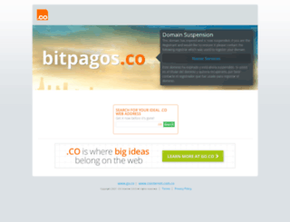 bitpagos.co screenshot