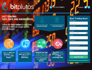 bitplutos.us screenshot