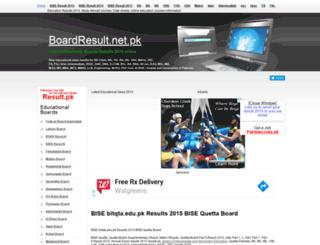bitqta.boardresult.pk screenshot