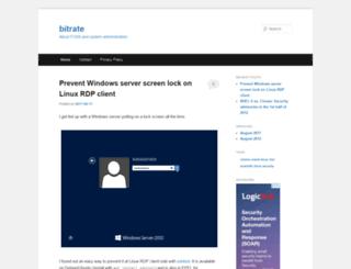 bitrate.epipe.com screenshot