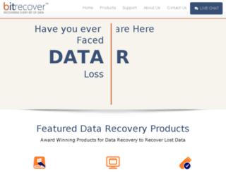 bitrecoversoftware.com screenshot