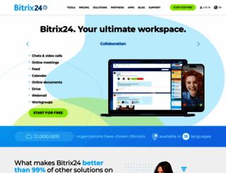 bitrix24.eu screenshot