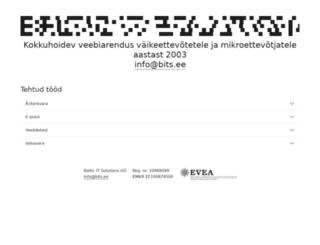bits.ee screenshot