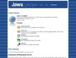 bits.jaws-project.com screenshot