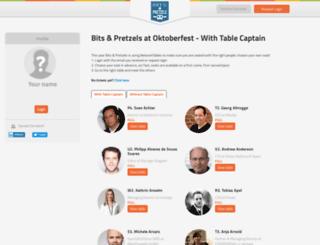 bitsandpretzels.networktables.com screenshot