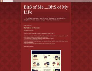 bitsofmebitsofmylife.blogspot.com screenshot