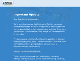 bitstripsforschool.com screenshot