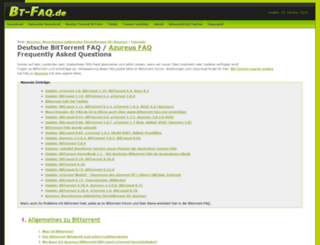 bittorrent-faq.com screenshot