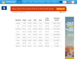 bitvaluefy.com screenshot