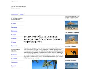 biura-podrozy.sylwesteroferty.pl screenshot