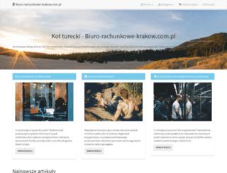biuro-rachunkowe-krakow.com.pl screenshot