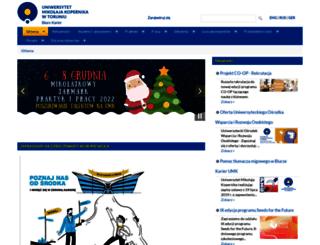 biurokarier.umk.pl screenshot