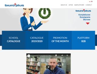 biuroplus.pl screenshot