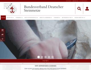 biv-steinmetz.de screenshot