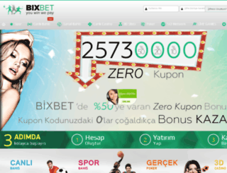bixbet.com screenshot