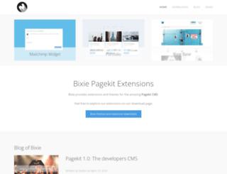 bixie.org screenshot