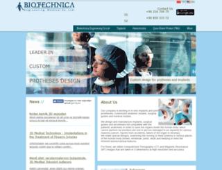 biyoteknika.com.tr screenshot