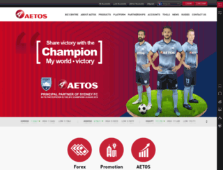 biz.aetoscg.com screenshot