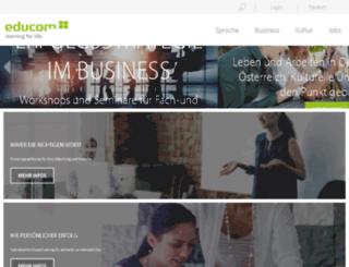 biz.educom-group.com screenshot
