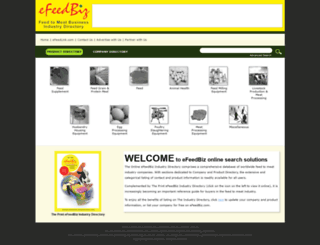 biz.efeedlink.com screenshot